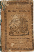 Books:Reference & Bibliography, R. Turner and W. Limming. The Fashionable Letter Writer: or, theArt of Polite Correspondence. Consisting of Original Le...