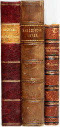Books:Literature Pre-1900, [Literature] [Frances Trollope, Anthony Trollope, and CharlesLever]. Trio of Titles. Various publishers and dates.... (Total: 3Items)