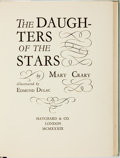 Books:Children's Books, Edmund Dulac, illustrator. SIGNED/LIMITED. Mary Crary. The Daughters of the Stars. London: Hatchard & Co., 1939....