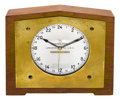"Timepieces:Clocks, Hamilton Koehler ""Cordless"" Sidereal Clock, René RondeauCollection. ..."