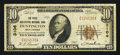National Bank Notes:West Virginia, Huntington, WV - $10 1929 Ty. 1 The First Huntington NB Ch. # 3106....