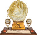 Baseball Collectibles:Others, 1965 Gold Glove Award from The Brooks Robinson Collection....