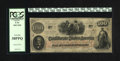 Confederate Notes:1862 Issues, T41 $100 1862. Even wear drapes this PCGS Very Fine 30PPQ....
