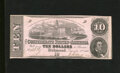 Confederate Notes:1862 Issues, T52 $10 1862. This is an attractive Extremely Fine $10....