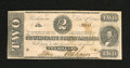 Confederate Notes:1862 Issues, T54 $2 1862....