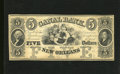 Obsoletes By State:Louisiana, New Orleans, LA- Canal Bank $5 18__. Five lovely sirens, flanked by portraits of Revolutionary War heros Washington and Lafa...