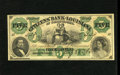 Obsoletes By State:Louisiana, Shreveport, LA- Citizens' Bank of Louisiana $5 Aug. 23, 1860. President Fillmore's portrait is paired with a portrait of a l...