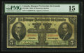 Canadian Currency: , Montreal, PQ- La Banque Provinciale Du Canada $5 August 1, 1928 Ch # 615-14-08. ...