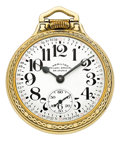 Timepieces:Pocket (post 1900), Hamilton 23 Jewel Grade 950B. ...