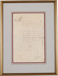 Autographs:Non-American, King Louis XIV of France Document Signed...