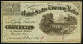 Obsoletes By State:Iowa, Davenport, IA- J.C. Washburn 5¢ Dec. 1, 1862 Oakes 34-UNL. ...