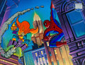 Animation Art:Limited Edition Cel, Spider-Man The Hobgoblin and Spidey Limited EditionSeri-Litho Cel (Marvel, 1996)....