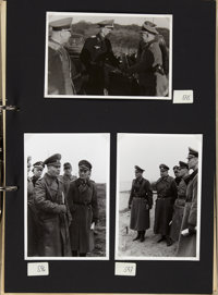Four Photograph Albums Compiled by Erwin Rommel's Aide