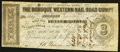 Obsoletes By State:Iowa, Dubuque, IA- Dubuque Western Rail Road Compy. $3 Jan. 15, 1858 Oakes 53-4. ...