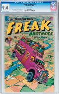 Modern Age (1980-Present):Alternative/Underground, The Fabulous Furry Freak Brothers #11 (Rip Off Press, 1990) CGC NM9.4 White pages....