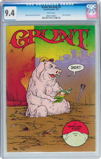Grunt Records #2 (Grunt Records, 1973) CGC NM 9.4 White pages