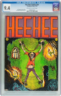 Bronze Age (1970-1979):Alternative/Underground, Hee Hee Comics #nn (Company and Sons, 1970) CGC NM 9.4 Off-white to white pages....