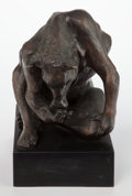 Bronze:Contemporary, Michael Ayrton (British, 1921-1975). The Minotaur. Bronzewith brown patina. 11 x 8-1/4 x 11 inches (27.9 x 21.0 x 27.9 ...