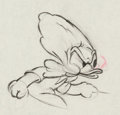 Animation Art:Production Drawing, Modern Inventions Donald Duck Animation Drawing (WaltDisney, 1937)....