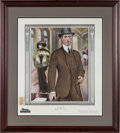 Baseball Collectibles:Others, 1914 Eddie Plank Royal Tailors Advertising Poster/Page....