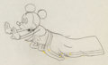 Animation Art:Production Drawing, Gulliver Mickey Mickey Mouse Animation Drawing (Walt Disney,1934)....