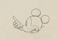 Animation Art:Production Drawing, Mickey Mouse Animation Drawing (Walt Disney, 1930s). ...