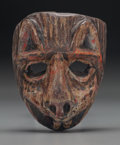 American Indian Art:Wood Sculpture, Tiger (Tigre) Mask, Probably Guatemalan. 20th c....