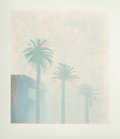 Prints, David Hockney (British, b. 1937). Mist (from the Weather series), 1973. Lithograph in colors on Arjomari paper. 28-3...