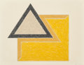 Prints, Frank Stella (American, b. 1936). Chocorua, pl. 11 (from the Eccentric Polygons series), 1974. Lithograph and screen...