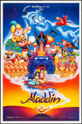 """Movie Posters:Animation, Aladdin (Buena Vista, 1992). One Sheets (2) (27"""" X 40"""", 27"""" X 41"""")DS Advance & Regular. Animation.. ... (Total: 2 Items)"""
