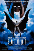 """Movie Posters:Animation, Batman: Mask of the Phantasm & Other Lot (Warner Brothers,1993). One Sheet (27"""" X 40"""") DS, & Commercial Poster (22.75"""" X35... (Total: 2 Items)"""
