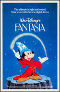 "Movie Posters:Animation, Fantasia & Other (Buena Vista, R-1982). One Sheet (27"" X 41"") and British Quad (30"" X 40""). Animation.. ... (Total: 2 Items)"