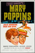 """Movie Posters:Fantasy, Mary Poppins (Buena Vista, R-1973). One Sheets (2) (27"""" X 41"""")Styles A & B. Fantasy.. ... (Total: 2 Items)"""