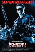 """Movie Posters:Science Fiction, Terminator 2: Judgment Day & Other Lot (Tri-Star, 1991). OneSheets (2) (27"""" X 40"""" & 27"""" X 41"""") SS & DS. ScienceFiction.. ... (Total: 2 Items)"""