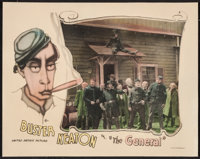 "The General (United Artists, 1927). Lobby Card (11"" X 14""). Comedy"