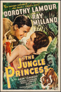 "Movie Posters:Adventure, The Jungle Princess (Paramount, R-1946). One Sheet (27"" X 41"").Adventure.. ..."