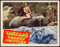 "Movie Posters:Adventure, Tarzan's Desert Mystery (RKO, 1943). Lobby Card (11"" X 14"").Adventure.. ..."