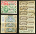 Military Payment Certificates:Series 461, Series 461, 472, and 641.. ... (Total: 11 notes)
