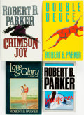 Books:Mystery & Detective Fiction, Robert B. Parker. Group of SIGNED/INSCRIBED Four Titles. Various publishers and dates.... (Total: 4 Items)