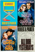 Books:Mystery & Detective Fiction, Robert B. Parker. Group of SIGNED/INSCRIBED Four Titles. New York:[Various publishers, various dates]. ... (Total: 4 Items)