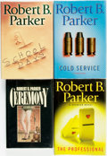Books:Mystery & Detective Fiction, Robert B. Parker. Group of SIGNED Four Titles. New York: G. P.Putnam's Sons, [various dates]. ... (Total: 4 Items)