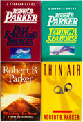 Books:Mystery & Detective Fiction, Robert B. Parker. Group of Four SIGNED Books. Various publishersand dates.... (Total: 4 Items)