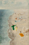 , Kelly Fearing (American, 1918-2011). Sea Breeze. Oil oncanvas. 36 x 24 inches (91.4 x 61.0 cm). Signed lower right:K...