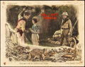 """Movie Posters:Science Fiction, The Lost World (First National, 1925). Lobby Card (11"""" X 14"""").. ..."""