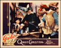 "Movie Posters:Drama, Queen Christina (MGM, 1933). Lobby Card (11"" X 14"").. ..."