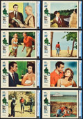 "Movie Posters:James Bond, Dr. No (United Artists, 1962). CGC Graded Lobby Card Set of 8 (11"" X 14"").. ... (Total: 8 Items)"