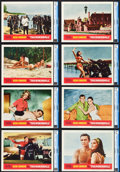 """Movie Posters:James Bond, Thunderball (United Artists, 1965). CGC Graded Lobby Card Set of 8 (11"""" X 14"""").. ... (Total: 8 Items)"""