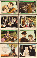 """Movie Posters:Drama, The Dark Angel (First National, 1925). Lobby Card Set of 8 (11"""" X14"""").. ... (Total: 8 Items)"""