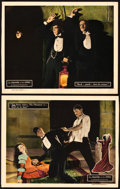 """Movie Posters:Horror, The Phantom of the Opera (Universal, 1925). Lobby Cards (2) (11"""" X 14"""").. ... (Total: 2 Items)"""