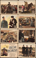 "Movie Posters:Western, The Iron Horse (Fox, 1924). Lobby Card Set of 8 (11"" X 14"").. ...(Total: 8 Items)"